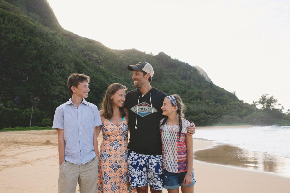 photographer Amanda Reed and family